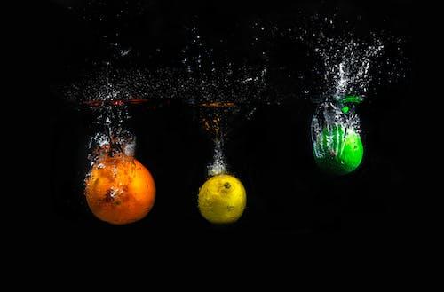 Citrus Fruits Underwater