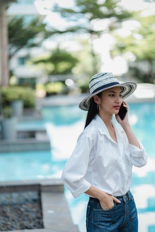 亞洲女人, 亞洲女性, 休息 的 免费素材图片
