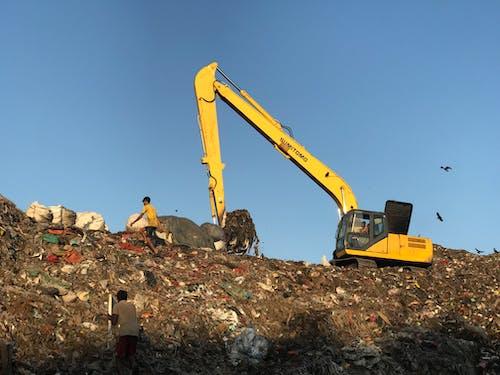 Δωρεάν στοκ φωτογραφιών με απόβλητα, απορρίμματα, βαρύς εξοπλισμός