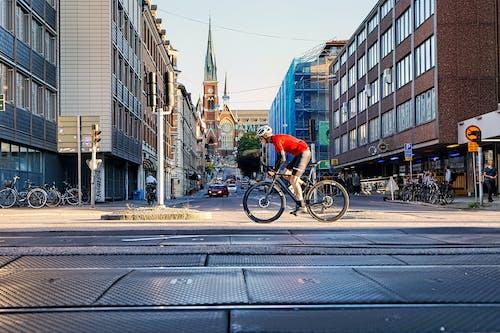 Foto profissional grátis de andar de bicicleta, atividade física, bicicleta