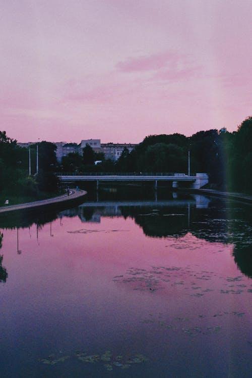 Fotos de stock gratuitas de lago, minsk, puesta de sol, río