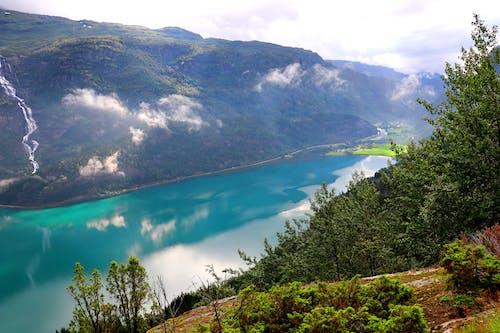 Green Mountains Near Blue Lake