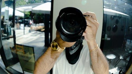 거울, 반사, 촬영, 촬영 장비의 무료 스톡 사진