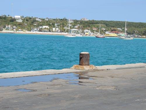 바다, 바하마 제도, 보트, 엘레 우 테라의 무료 스톡 사진