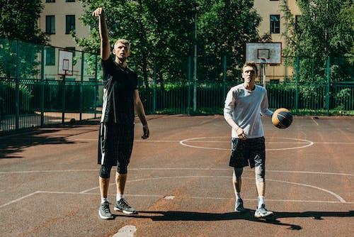 Fotobanka sbezplatnými fotkami na tému akčná energia, aktivita, basketbal