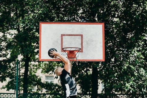 Fotobanka sbezplatnými fotkami na tému aan lichtbak toevoegen, basketbal, basketbalový Kôš