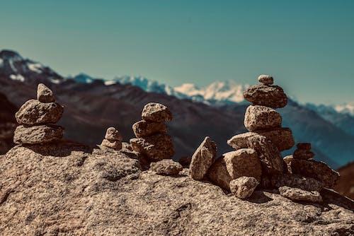 Immagine gratuita di alba, armonia, deserto, equilibrio
