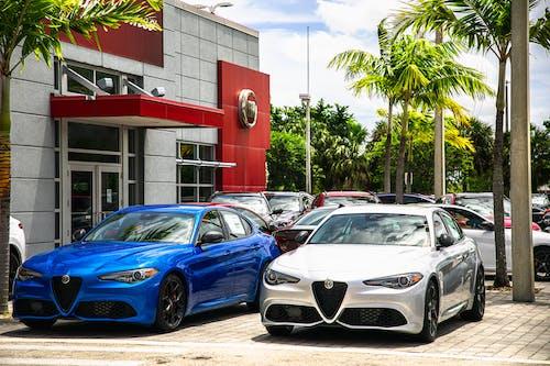 Free stock photo of alfa romeo, car dealership, cars, Fiat