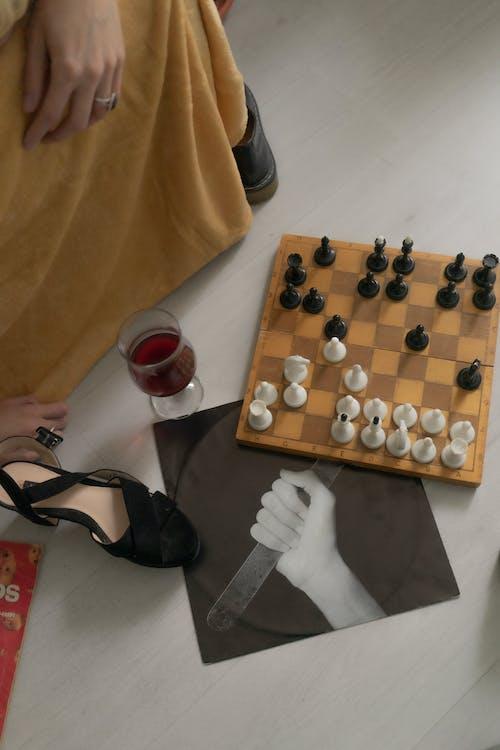 Fotos de stock gratuitas de afición, ajedrez, alcohol