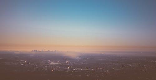 全景, 城市, 天空, 天際線 的 免费素材照片