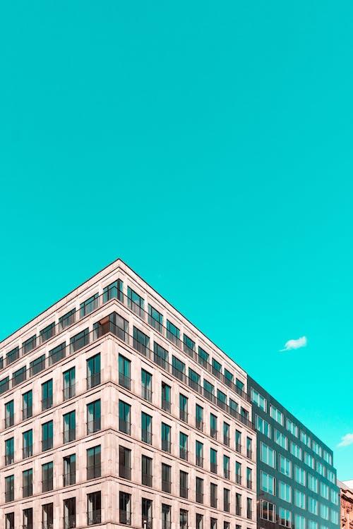 Modern Building Under Blue Sky