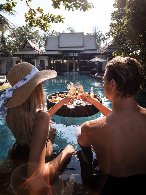 Immagine gratuita di acqua, adulto, bevanda, champagne