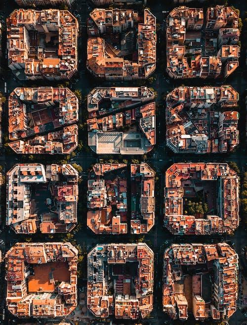 Immagine gratuita di architettura, astratto, barcellona, blocca