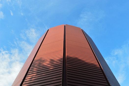 Kostenloses Stock Foto zu himmel, rot, wolken, blau