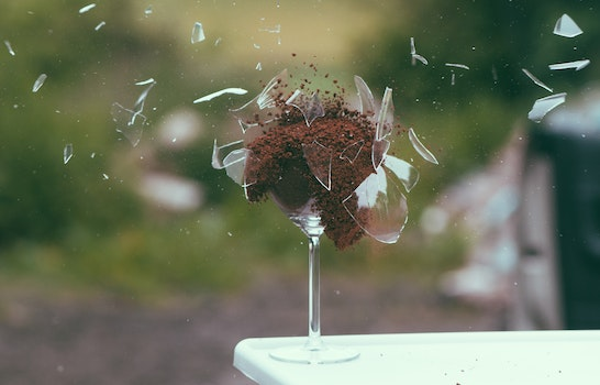 Free stock photo of art, broken, explosion, glass