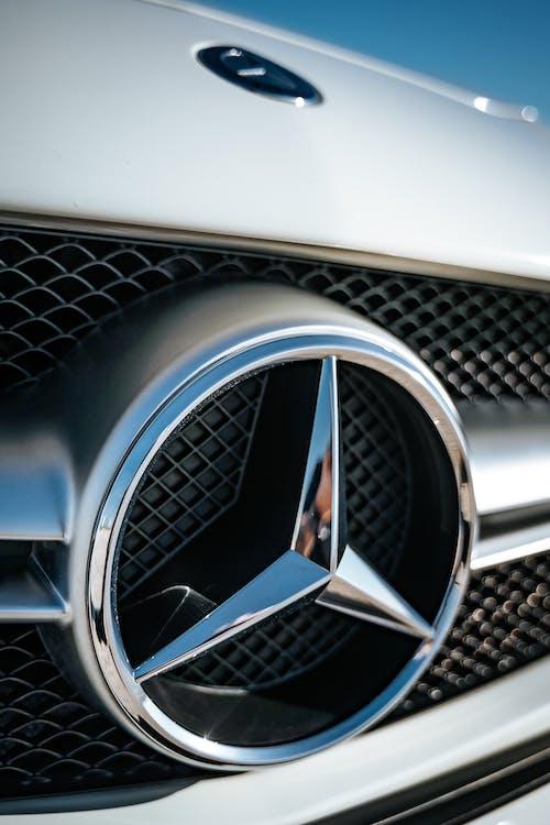 A Mercedes Benz Emblem