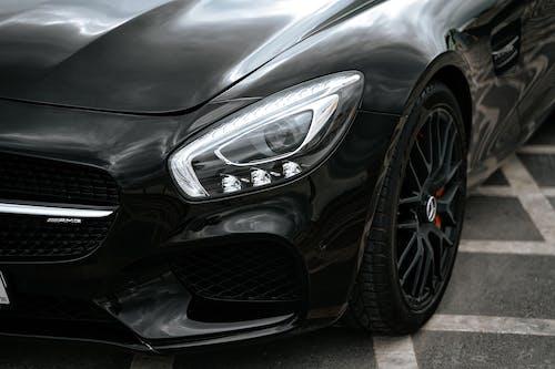 Black Mercedes Benz C Class