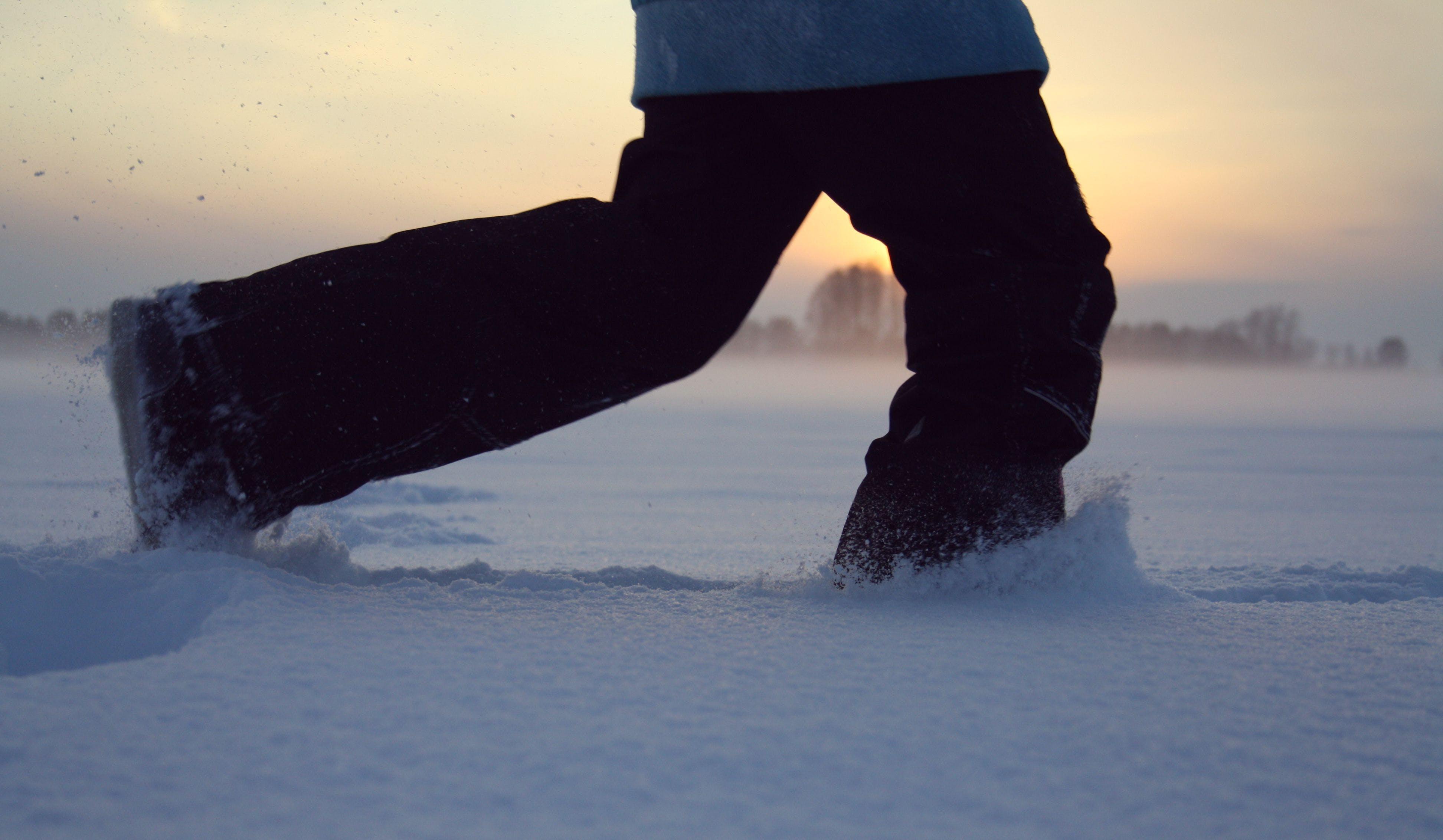 Kostenloses Stock Foto zu #winter #snow #sunset
