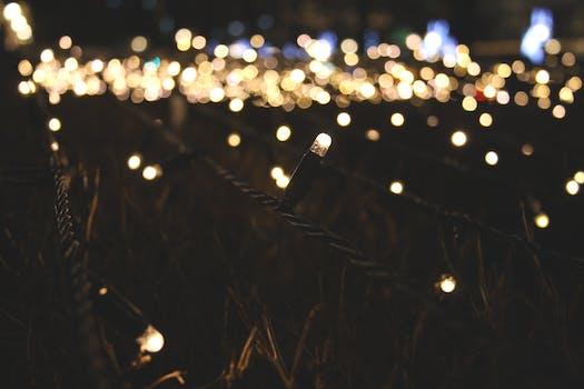 1000 Beautiful Christmas Lights Photos Pexels Free Stock