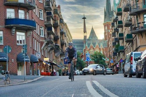 Fotos de stock gratuitas de actividad, al aire libre, bici