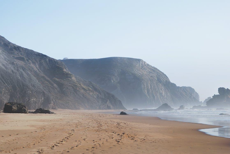 모래, 물, 바다
