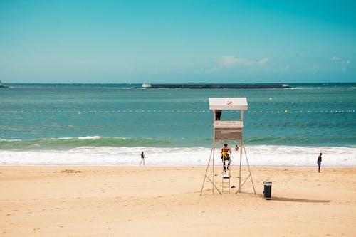 Бесплатное стоковое фото с вода, волны, горизонт, живописный