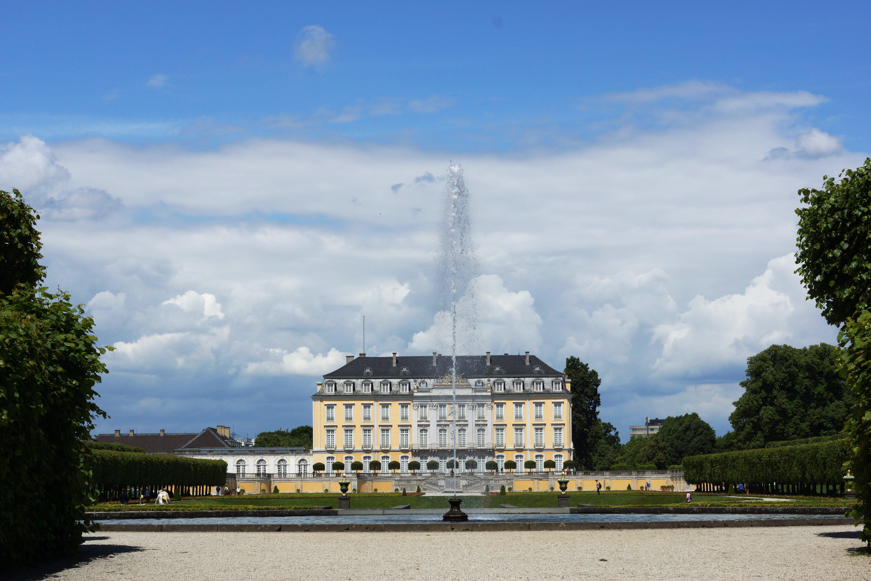 Free stock photo of castle Bruehl near Bonn, Schloss Brühl bei Bonn