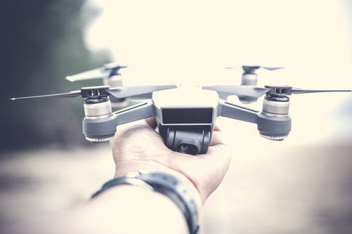 Person Holding Dji Mavic Pro