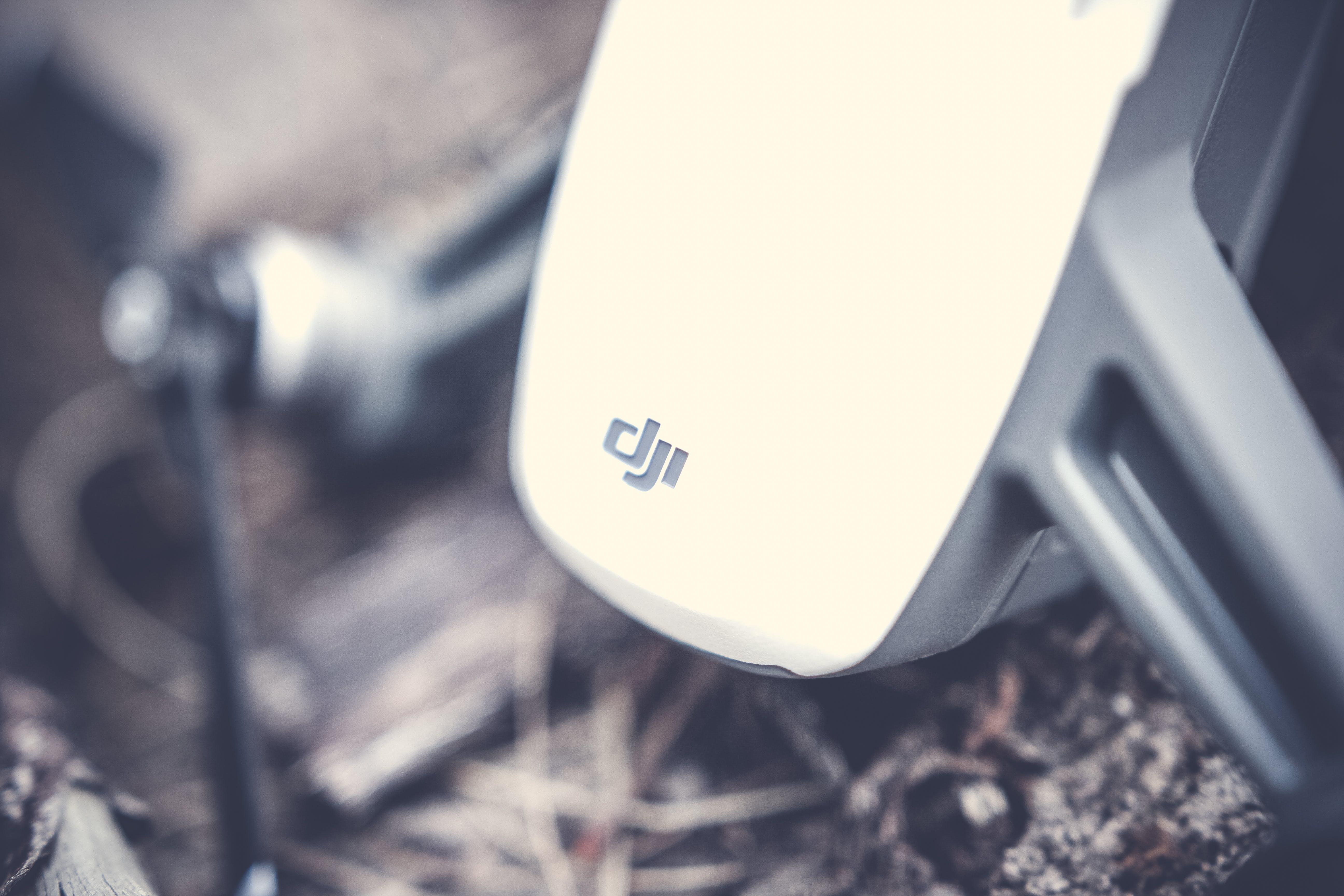 White and Black Dju Drone