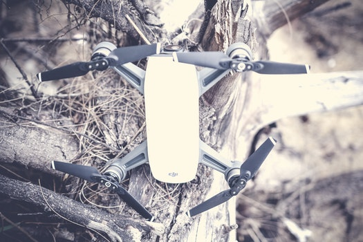 Free stock photo of drone, spark, dji, drone cam