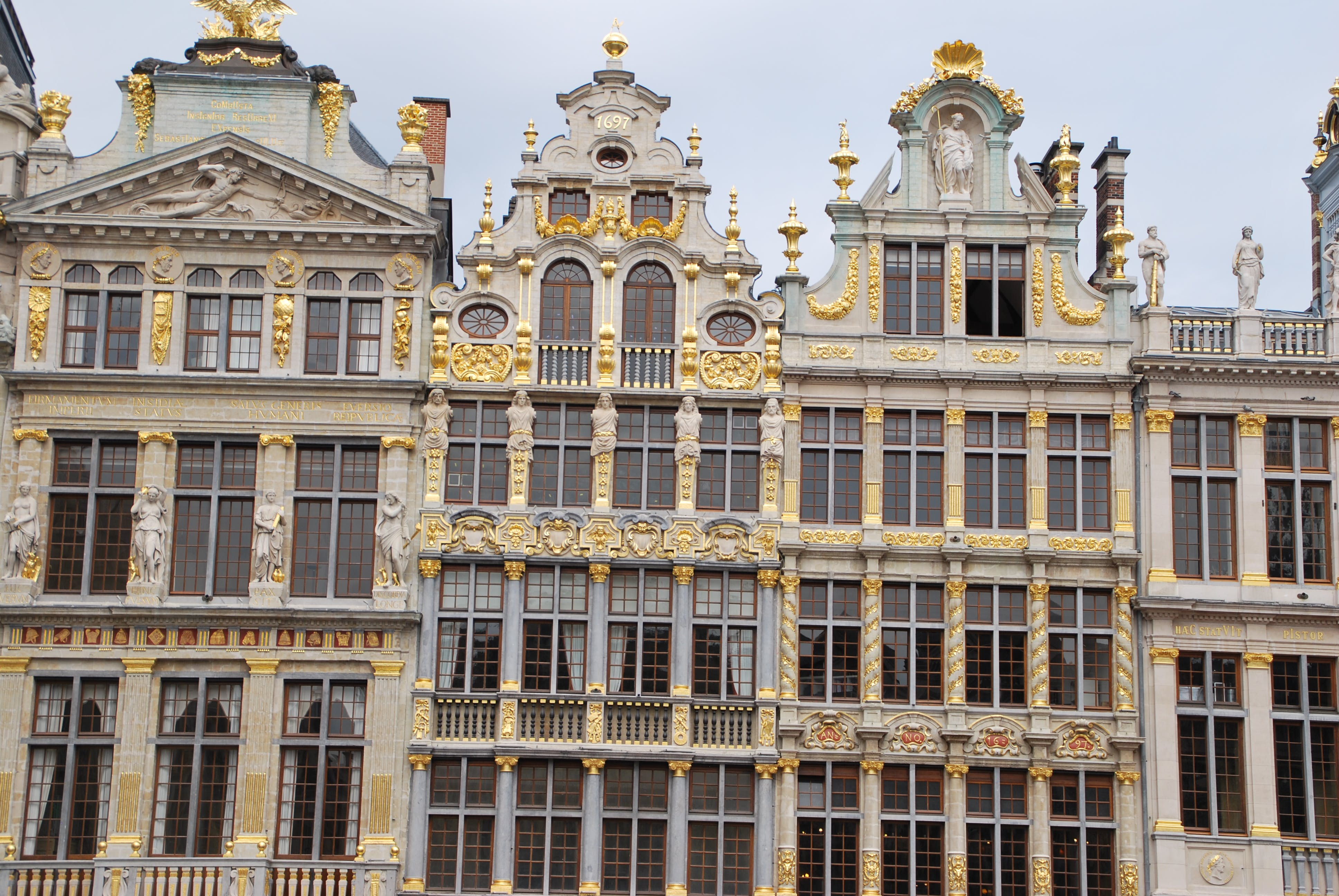 Free stock photo of appartment building, brussels, buildings, grand place