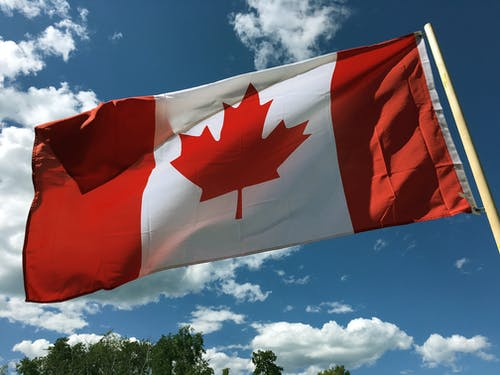 Free stock photo of blue sky, canada, canada day