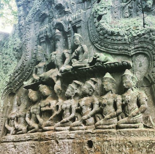 Free stock photo of angkor wat, apisara, bas relief