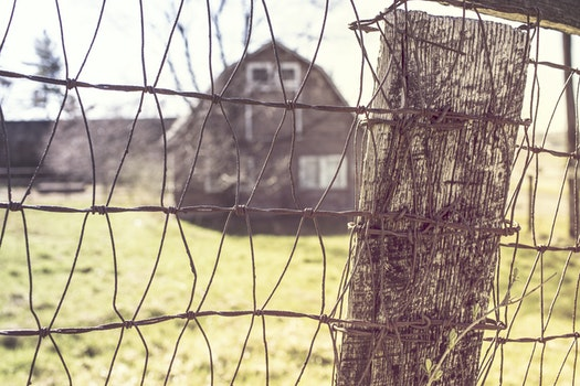 Free stock photo of countryside, house, farm, fence