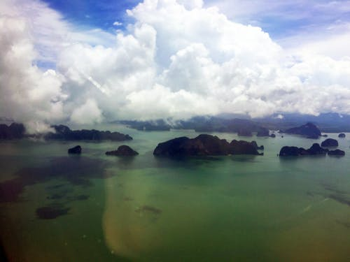 Free stock photo of andaman sea, clouds, gulf of thailand