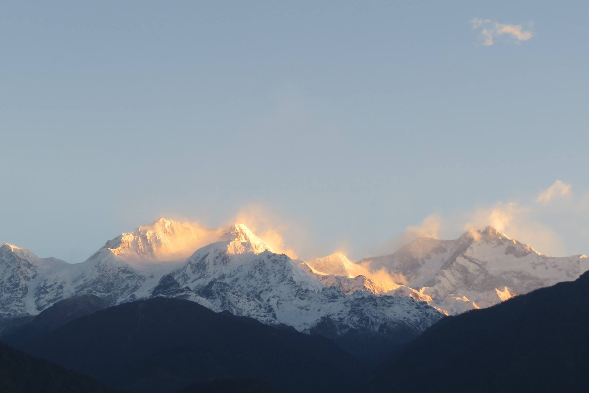 Free Stock Photo Of Himalayas Snow Capped Mountain