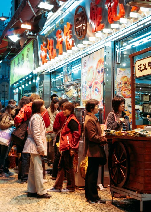 夜市, 本地, 當地, 街頭食物 的 免费素材图片