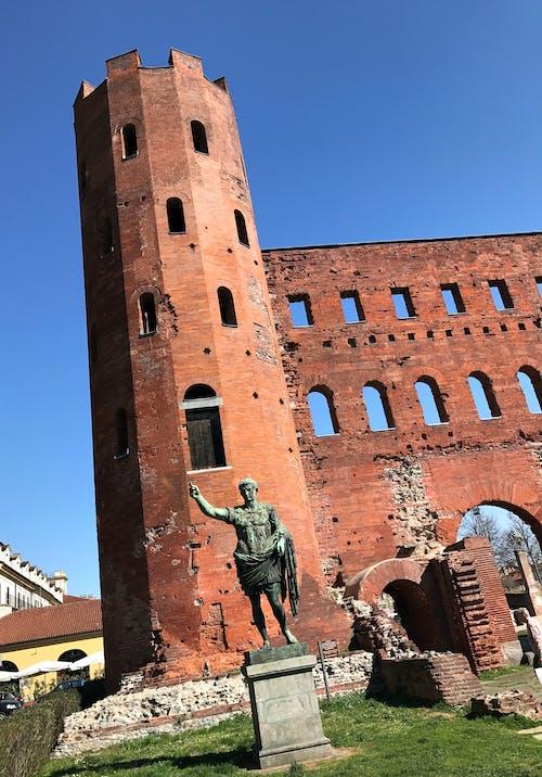 Free stock photo of ancient roman walls, brick wall, castle