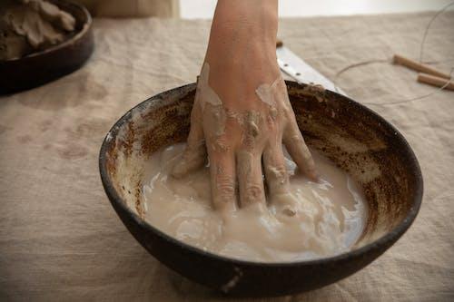 คลังภาพถ่ายฟรี ของ ceramist, clayware, faceless, กระบวนการ