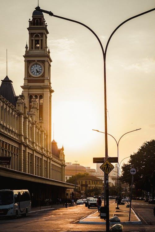 交通, 人行道, 光 的 免費圖庫相片