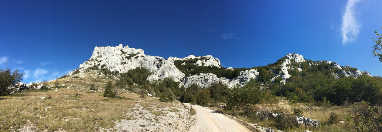 croatia, mountains