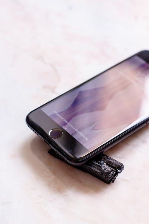 Free stock photo of iphone, iphone 7, rock, stone floor