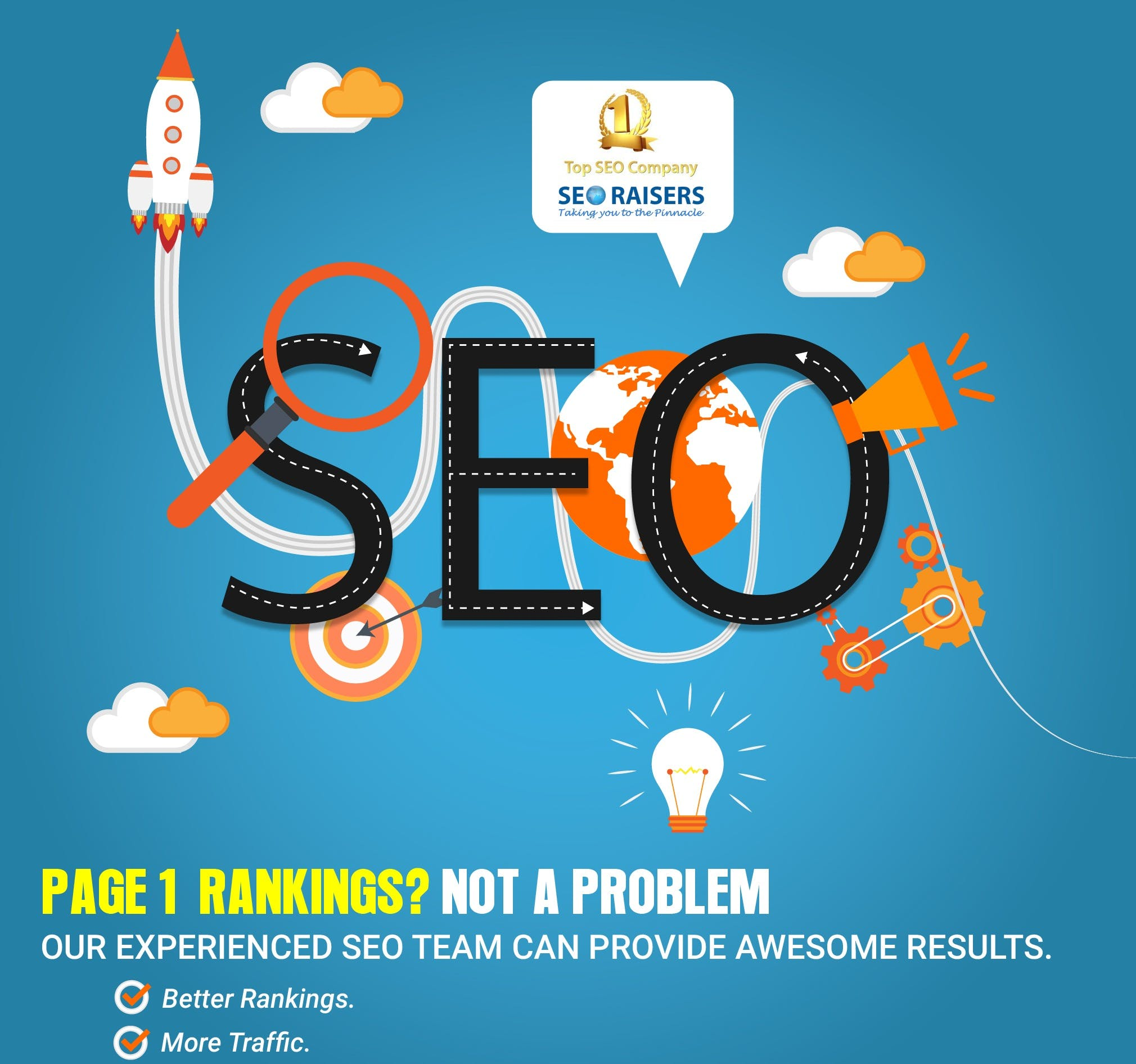 Free stock photo of Page 1 Ranking With SEORAISERS