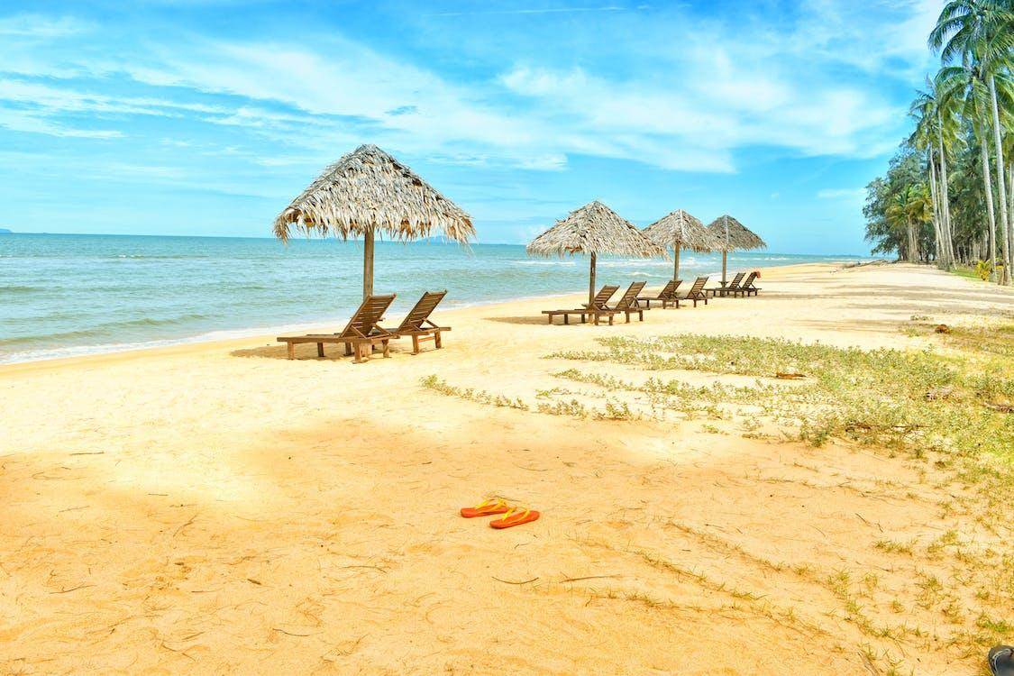 cestovať, chata na pláži, exteriéry