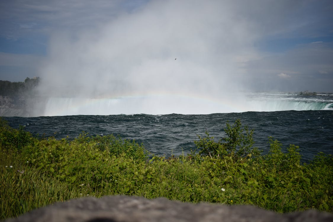 Free stock photo of falls, niagara falls, rainbow