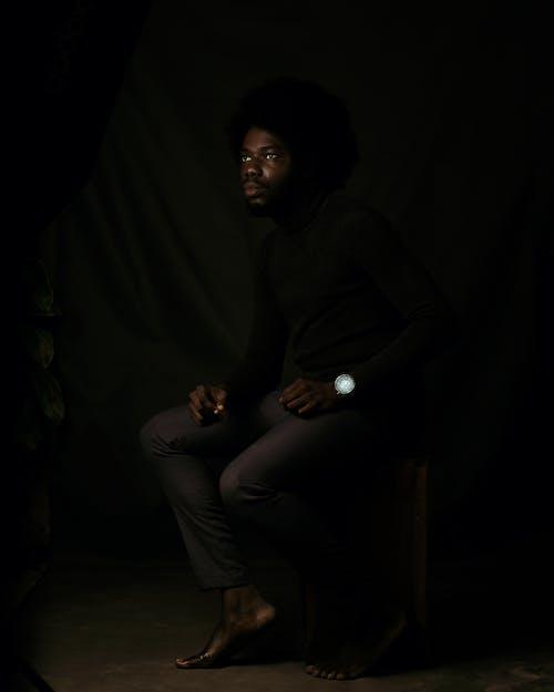 Ilmainen kuvapankkikuva tunnisteilla afro, afroamerikkalainen mies, ajattelu