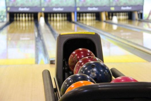 Shiny Bowling Balls