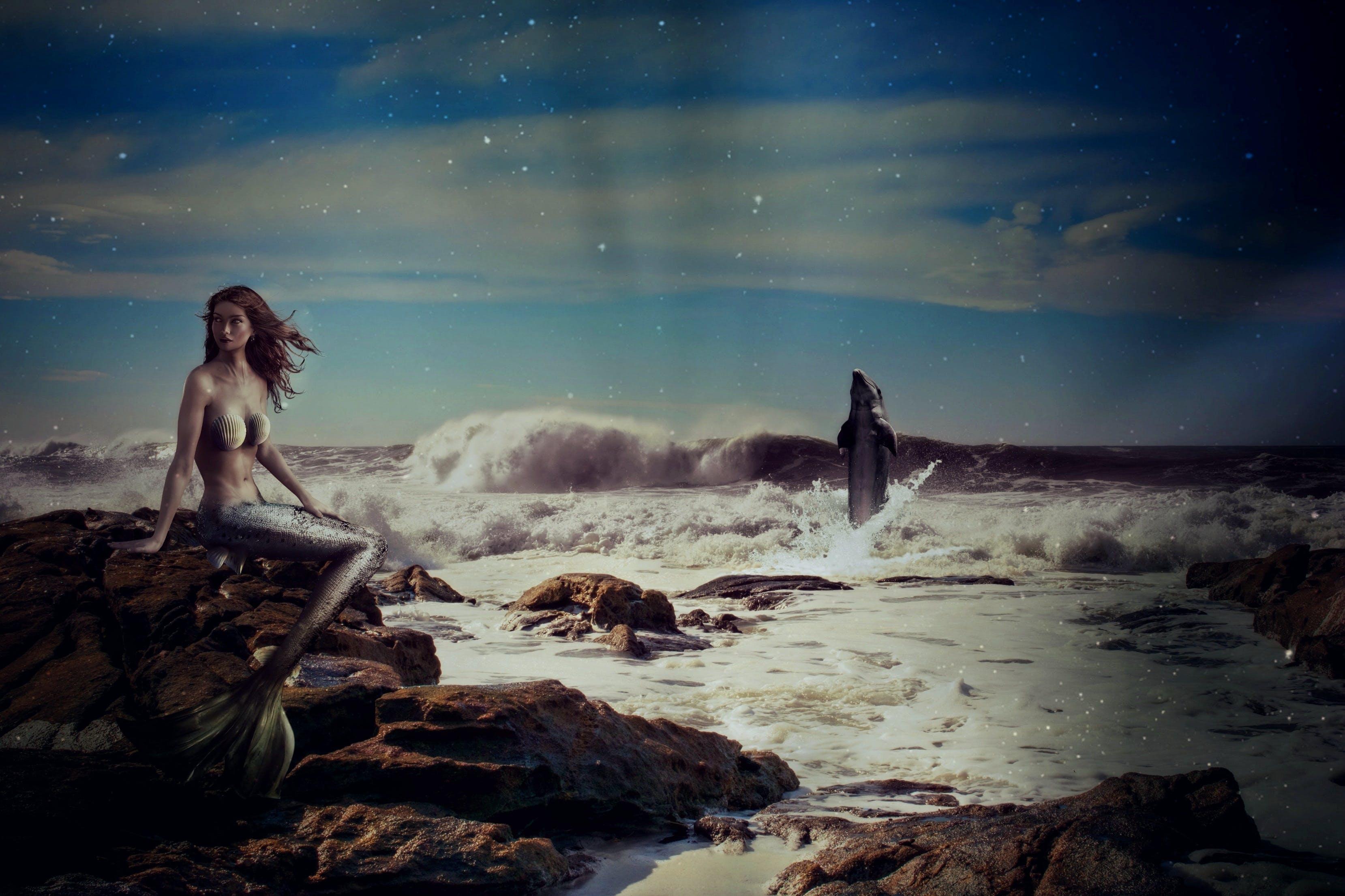 Free stock photo of sea, sky, sunset, romantic