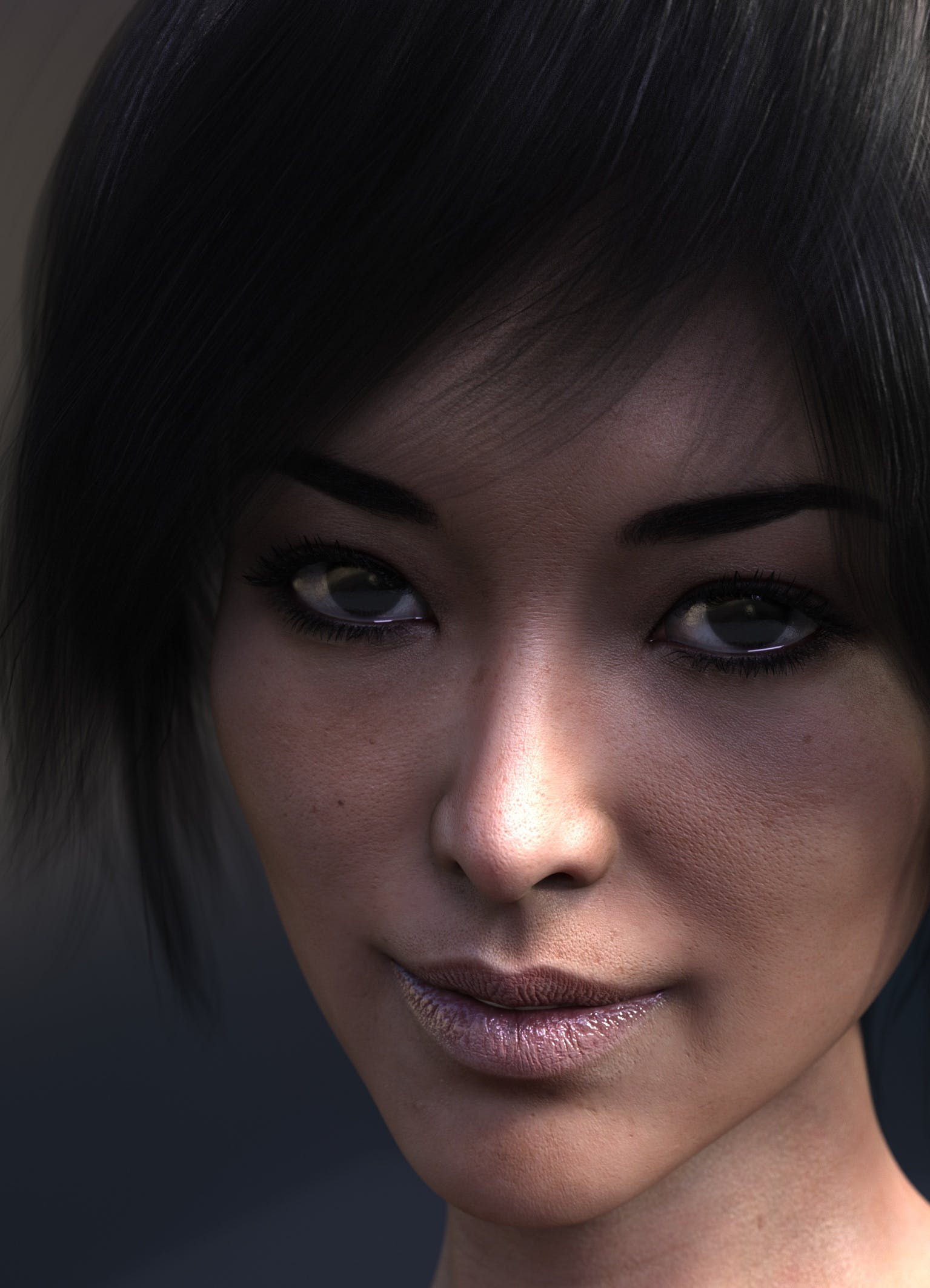 Free stock photo of 3d, computer graphics, face, female