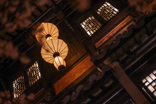 Základová fotografie zdarma na téma čínské lucerny, historických budov